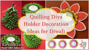 diy diwali diya holder from plastic spoon k4 craft