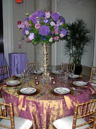 eiffel tower table centerpieces looking purple wedding design and decoration using purple