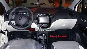 renault clio interior 2017 confira o interior do renault captur brasileiro autos segredos