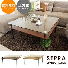 Square Living Room Tables Hello Furniture Rakuten Global Market Living Room Table Square