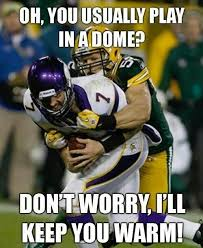Funny Packers Memes - clay matthews in minnesota vikings v green bay packers clay