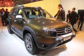 renault duster 2014 white auto expo 2014 renault duster adventure edition shown in amazon
