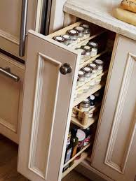 drawers in kitchen cabinets kitchen cabinet spice rack clever design ideas 7 28 cabinets pull