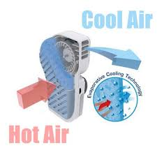 battery operated fans locomo mini handheld portable fan air conditioning