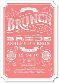 brunch bridal shower invitations chagne brunch bridal shower invitations partyideapros