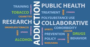 Word Cloud Map Of Washington by Collaborative Research On Addiction At Nih