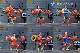 weightlifting technique with evidence lifting the feet in the