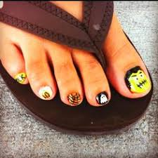 halloween toe nails my style pinterest halloween toe nails