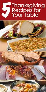 the best on the block 5 thanksgiving recipes for your table