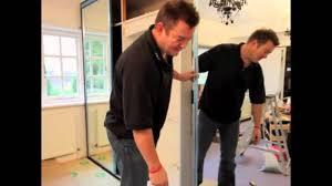 Mirrored Sliding Closet Doors Sliding Mirror Wardrobe Door Installation Youtube