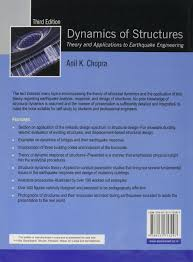dynamics of structures 3rd edition anil k chopra