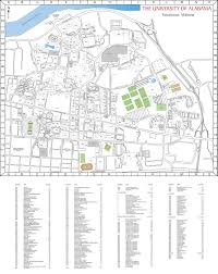 Alabama Maps Campus Maps