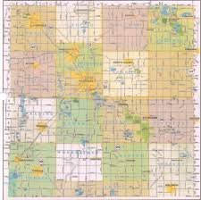 Detailed Map Of Michigan Hillsdale County Township Map U2014 Hillsdale County Historical Society