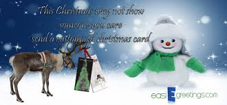 fully personalised christmas e card