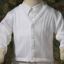 baby boy sweater baby boys white knit baptism christening sweater 3 24m