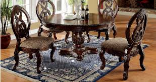 tuscany dining room tuscany i cm3845ch rt round dining table in cherry w options