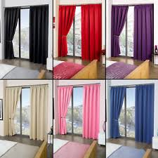 luxury thermal blackout curtains black cream pink blue