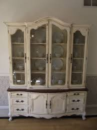 Reserved Sale Pending Vintage French Provincial China Cabinet