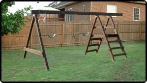 Backyard Swing Set Plans by How To Build A Backyard Playground Fort Swingset Cad Designed