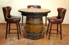 rustic high top table barn wood table ideas distressed kitchen table barn wood table ideas