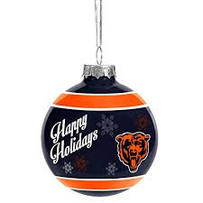 chicago bears tree ornaments ornament shop