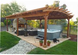 Pool Pavilion Plans 100 Southern Backyard Interior Picturesque Backyard