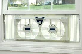 twin window fan lowes best window fan twin window fan with thermostat and 7 inch fan