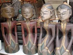 bali wood carvings throughout the world