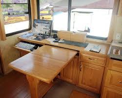 Rv Desk On Pinterest Rv Remodeling Desks And Corner Desk For Rv - Corner cabinet for rv
