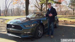 review of 2015 ford mustang review 2015 ford mustang ecoboost