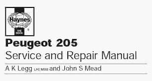 peugeot 205 service manual wiring diagram user manual