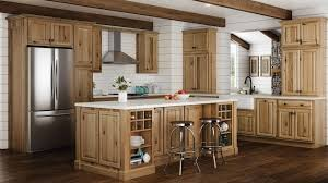 what paint color goes best with hickory cabinets the of hickory kitchen cabinets the kitchen
