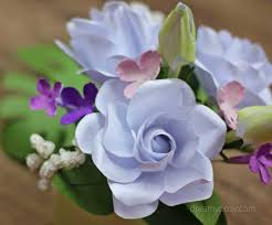 gardenia flower how to make gardenia paper flower and foliage free template