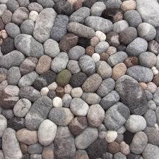 Pebble Rug Fluss Design Felt Stone Carpet Noveltystreet