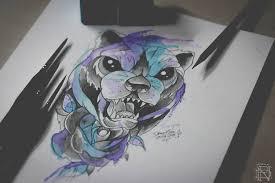 interview with watercolor tattooer dener silva scene360