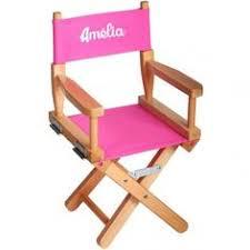 chaise de cinéma découvrez cette chaise de cinéma brodée avec prénom sur poupepoupi