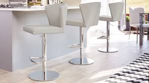 Modern Kitchen Island Stools Furniture Curvy Modern Gas Lift Contemporary Bar Stools With