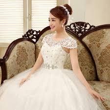 brautkleid ma geschneidert lamya luxus kristall spitze hochzeitskleid elegante romantische