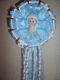 corsage de baby shower creaciones yaz corsage baby shower niño
