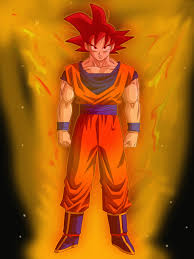 wallpapers goku super saiyan god wallpapersafari