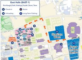 Penn State Campuses Map by Routing Pass Psu Arrival