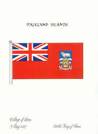 Proper Flag Placement Falkland Islands