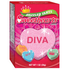 sweetheart candy necco dazzled sweethearts