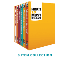 10 Must Essentials For A by Hbr S 10 Must Reads Series Boxed Set 6 Books