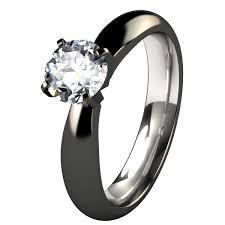 black wedding ring set beautiful black wedding rings for men and women rikof