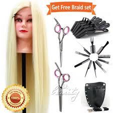 Hair Styling Classes Aliexpress Com Buy 26inch Synthetic Blonde Hair Styling Training