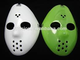 Jason Halloween Mask by Plastic Red White Black Freddy Vs Jason Halloween Mask Buy Jason