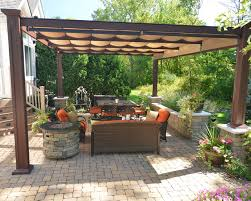 Backyard Shade Canopy by Free Standing Bungalow Bronze Aluminum Structure With Canopies