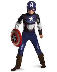 Halloween Costumes Boys Kids Amazon Captain America Movie Child Classic Costume Clothing