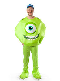 mike wazowski costumes for men women kids parties costume